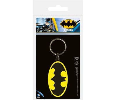 Batman Logo - Rubberen Sleutelhanger