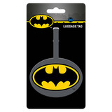 DC Comics Batman Logo Bagage Label
