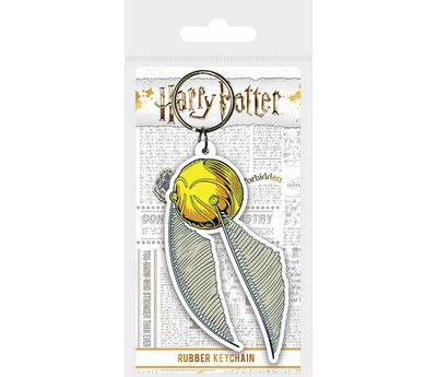 Harry Potter Golden Snitch - Rubberen Sleutelhanger