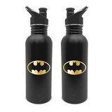 Batman Logo Gold Metalen Canteen Bottle