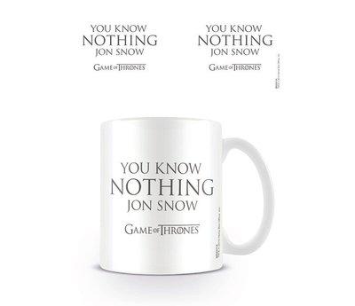 Game Of Thrones You Know Nothing Jon Snow - Mok
