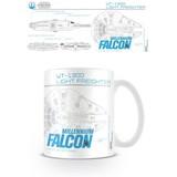 Star Wars Millennium Falcon Sketch Mok
