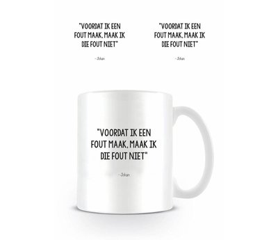 Johan Cruijff Fout - Mok