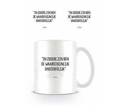 Johan Cruijff Onsterfelijk - Mok