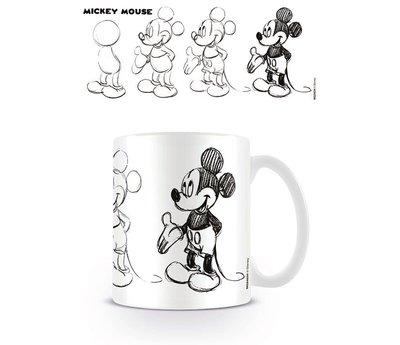 Disney Mickey Mouse Sketch Process - Mok