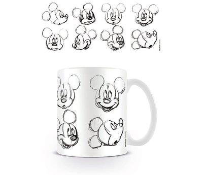 Disney Mickey Mouse Sketch Faces - Mok