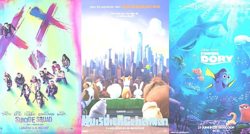 Top 5 films die je niet mag missen deze zomer!