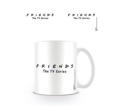 Friends Logo White Mok