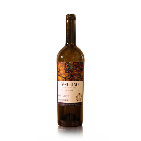 Merk Vellino Vellino Rkatsiteli  Classic Semi-Dry white wine 2019