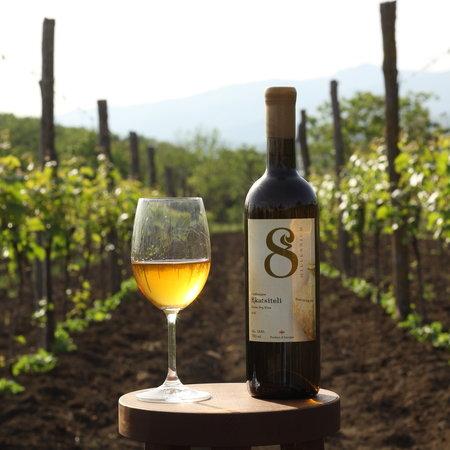 Amber wijn