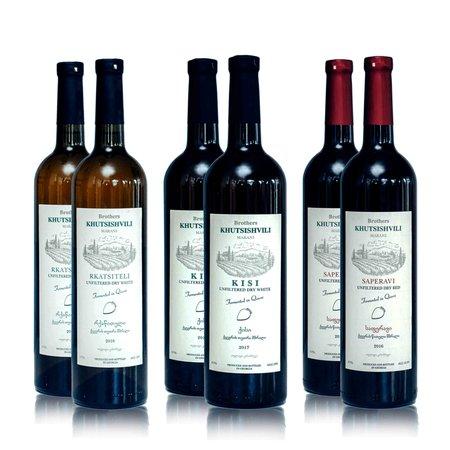 Wijn proefpakket Khutsishvilli  (Gratis verzending NL)