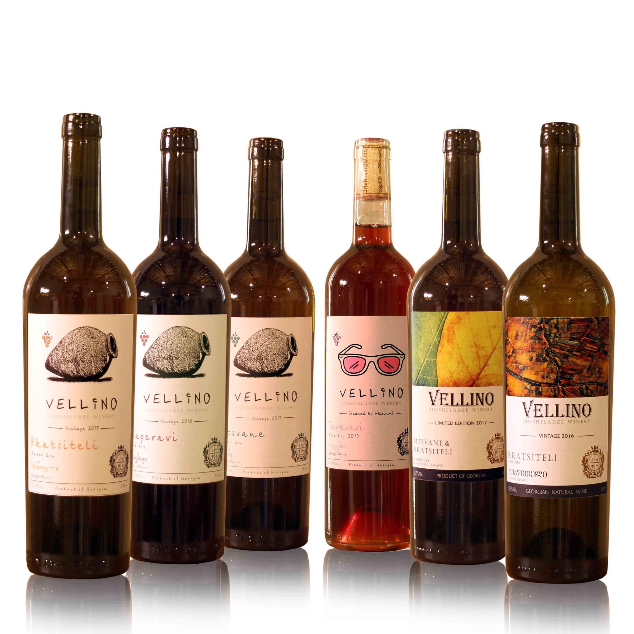 Merk Vellino Vellino wine tasting package