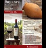 Merk  8millennium  Saperavi 8millennium, Rode droge Qvevri wijn  [bio-dynamic] 2018