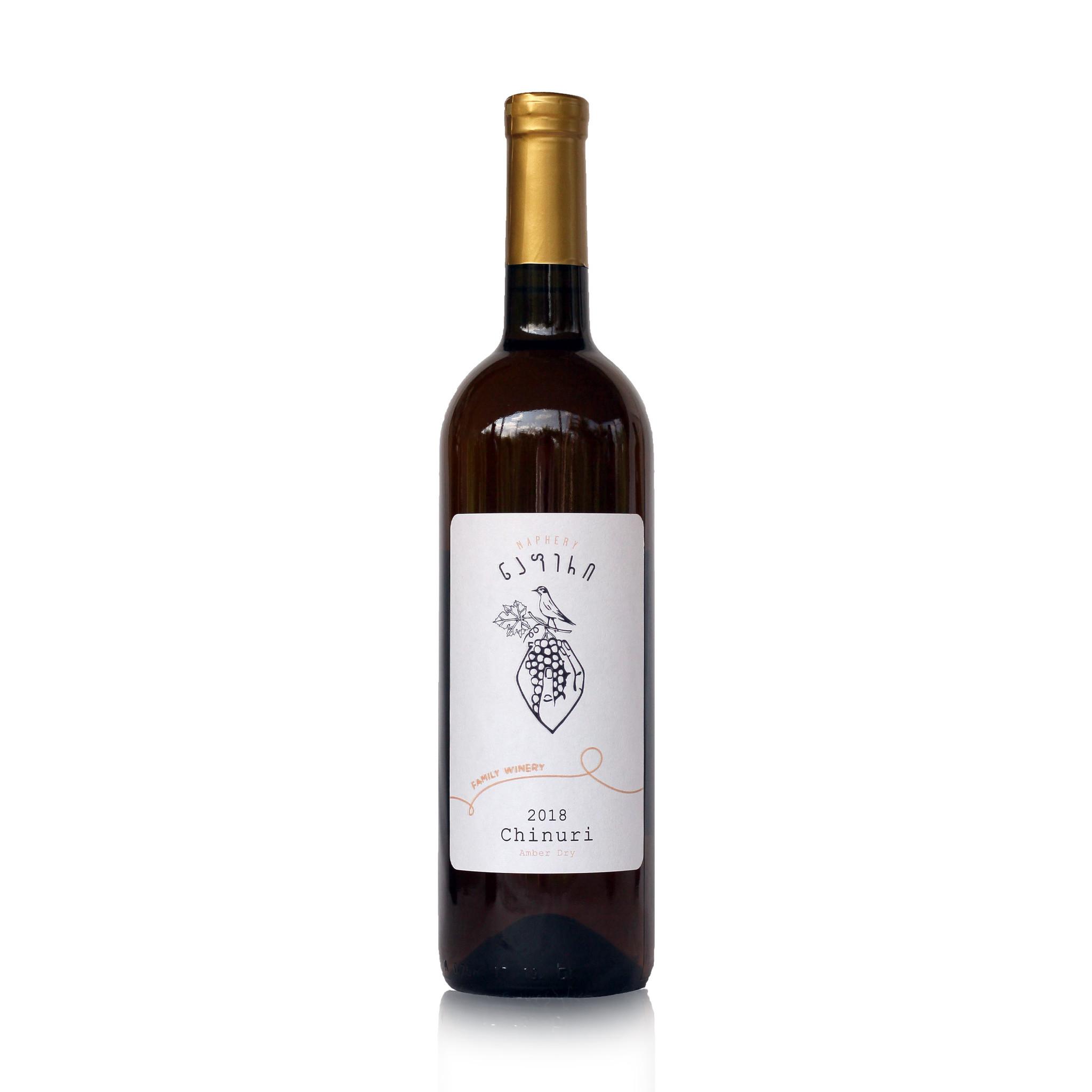 Napheri Chinuri Napheri, Qvevri, Amber droge wijn 2018