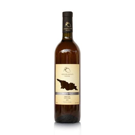 Abdushelishvili Winery Rkatsiteli Qvevri, Amber dry wine, Abdushelishvili