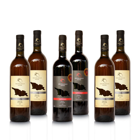 Abdushelishvili Winery Droog wijn proefpakket Abdushelishvili wijnen