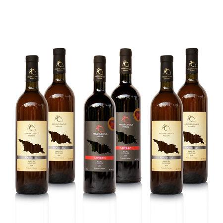 Abdushelishvili Winery Wijn proefpakket Abdushelishvili wijnen