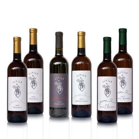 Napheri Napheri [Amber en Rood] droog Qvevri wijnen