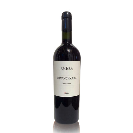 AMBRA Khvanchkara AMBRA Semi-Sweet red wine