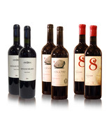 8millennium, Vellino, AMBRA Premium wijn proefpakket, rode-droge en half-zoete wijnen (6x)