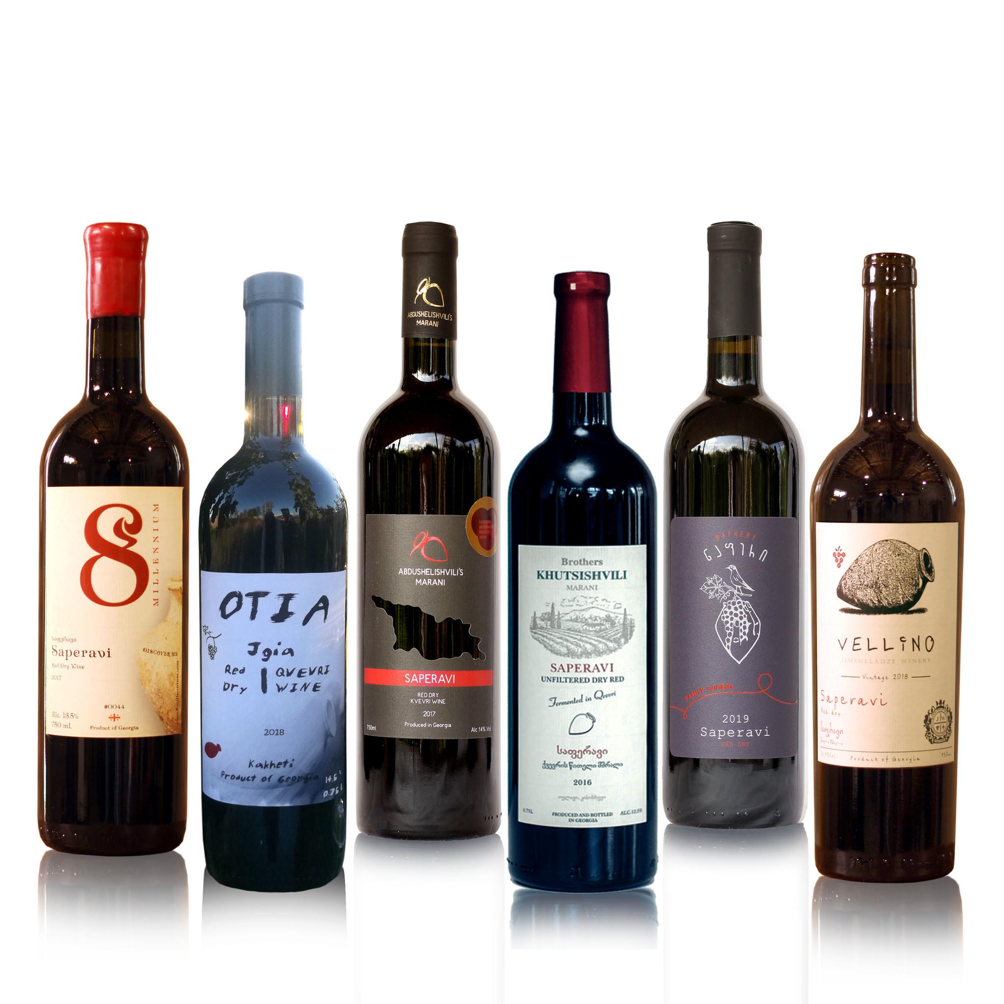 Merk  8millennium  Mix of red dry wines