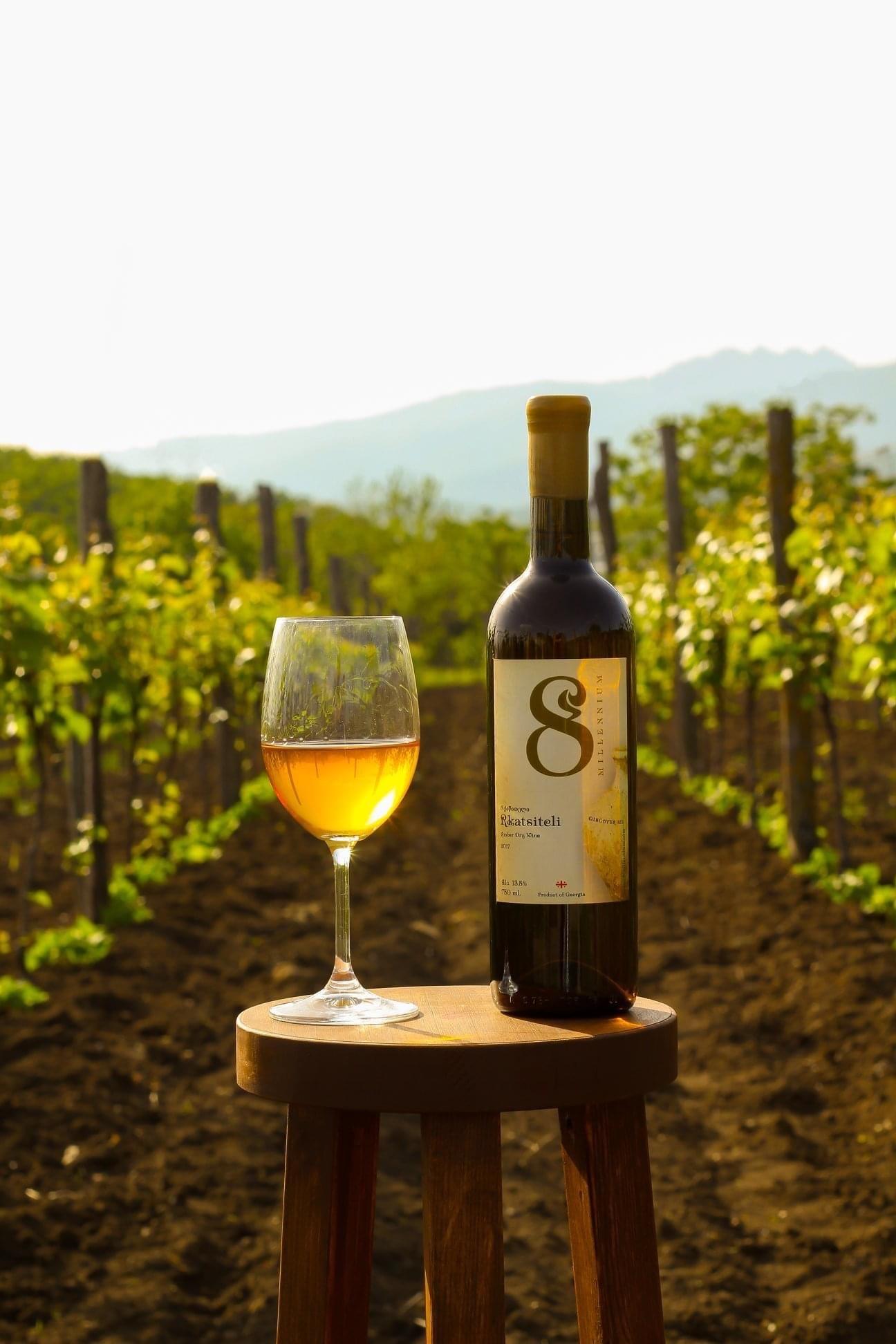 Merk  8millennium  Amber wine tasting package (Free shipping NL)