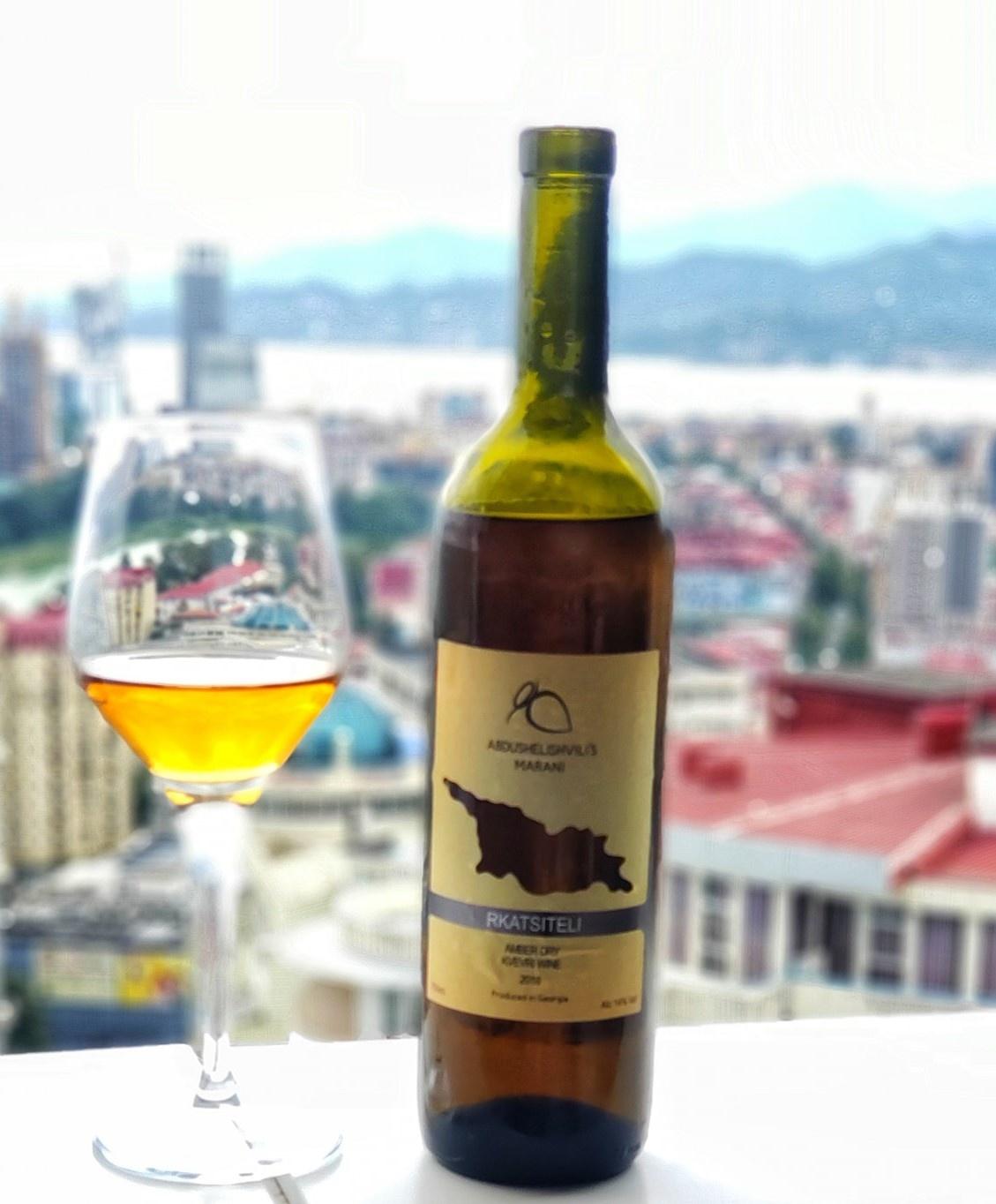 Abdushelishvili Winery Rkatsiteli Qvevri, Amber droog wijn, Abdushelishvili