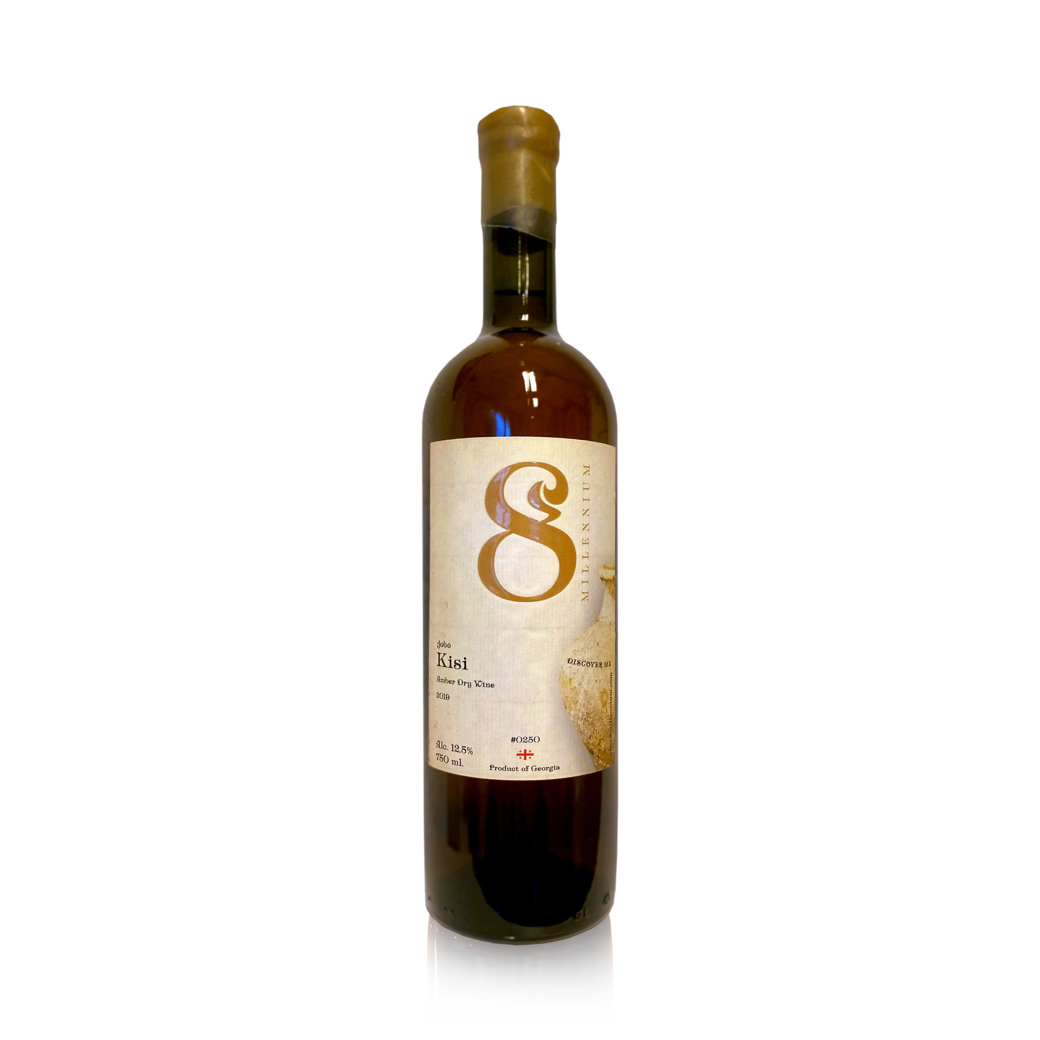 Merk  8millennium  Kisi 8millennium, Amber droge wijn [biodynamisch] 2019
