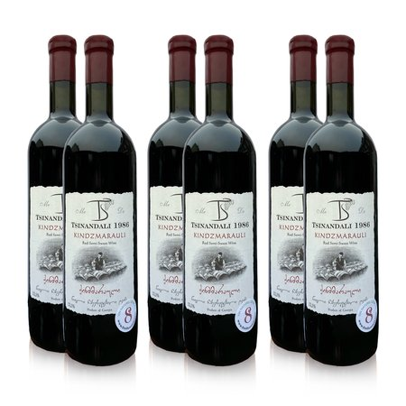 Kindzmarauli Kindzmarauli, premium red wine tasting package (6x)