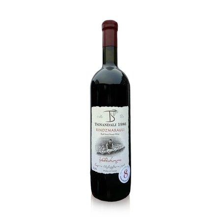 Tsinandali 1986 Kindzmarauli Tsinandali 1986 halfzoet-rode wijn 2019