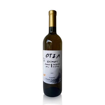 OTIA Chinuri OTIA, Amber droge wijn 2019
