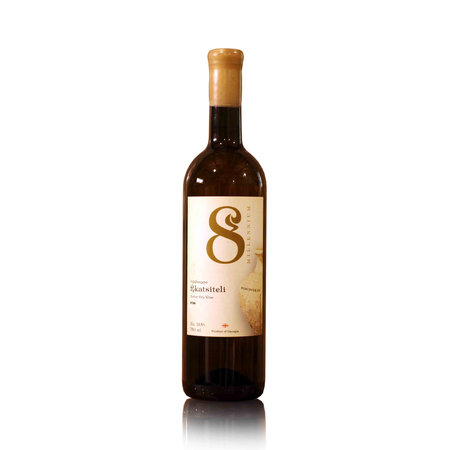 Merk  8millennium  8millennium Rkatsiteli [bio-dynamic] Amber dry Qveveri wine 2018