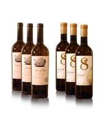 8millennium and Vellino Amber premium dry wine tasting box [6x]