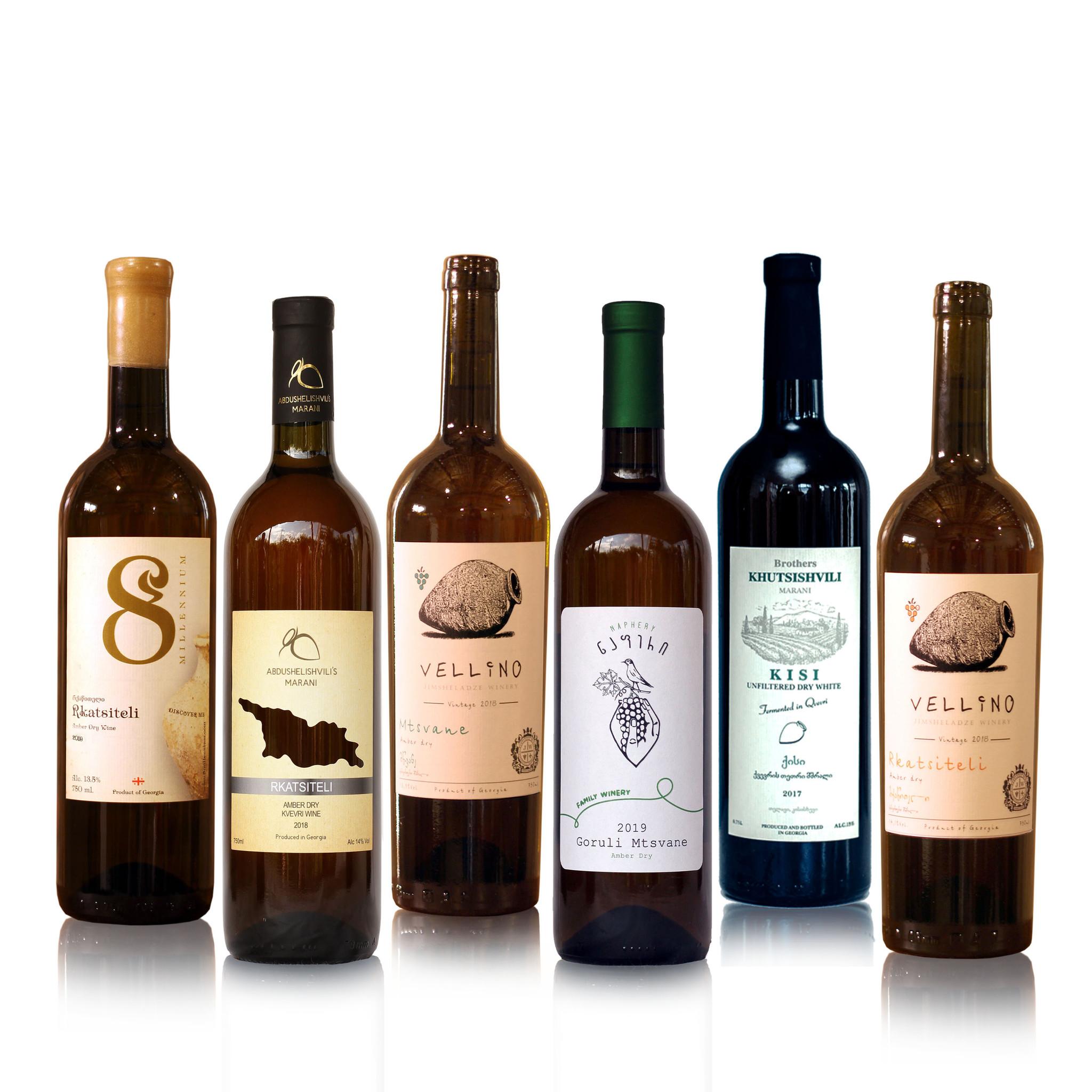 Merk  8millennium  Amber dry wine tasting package (6x)