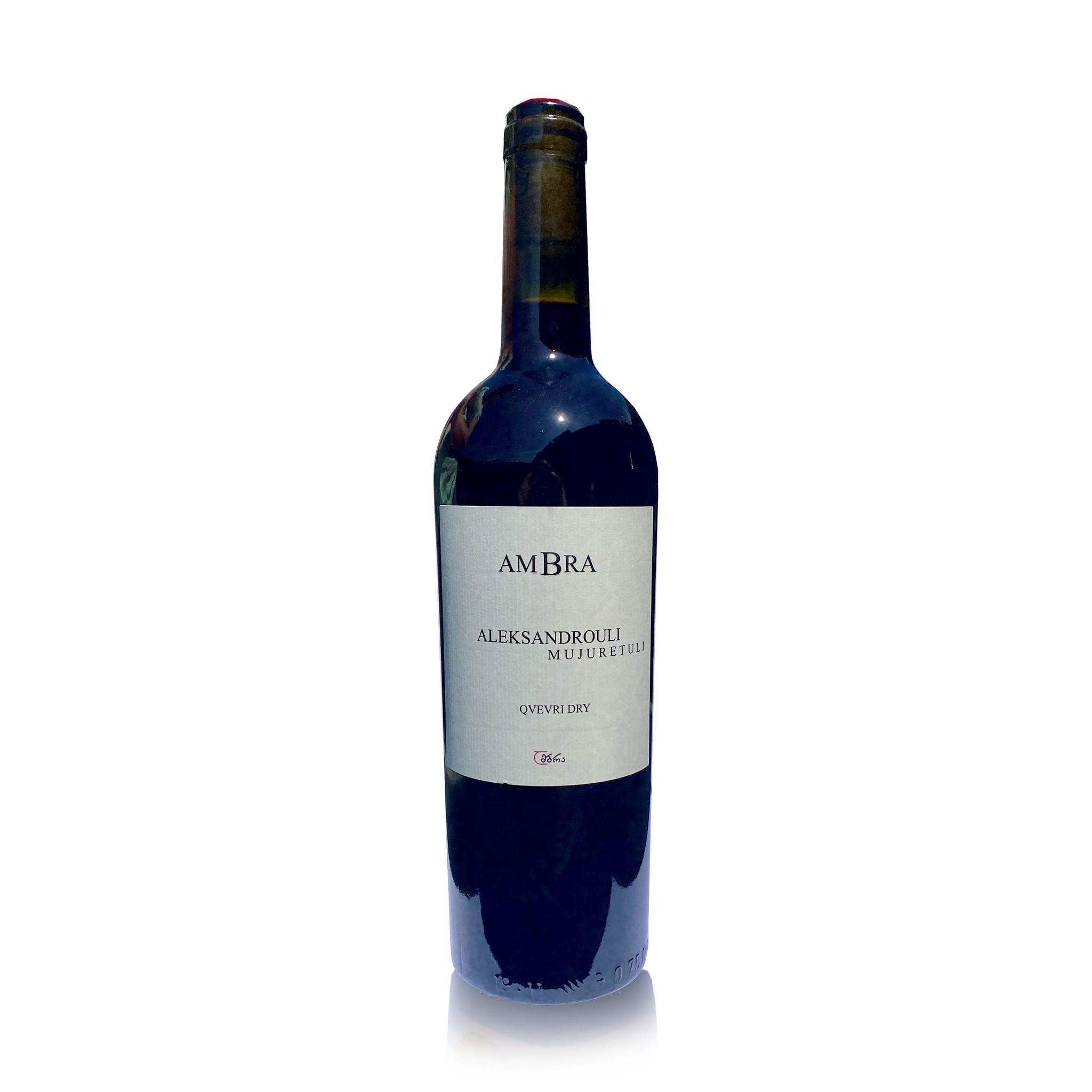 AMBRA Aleksandrouli Mujuretuli AMBRA, red dry wine