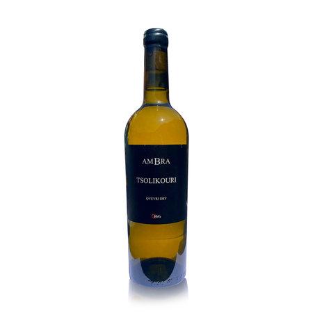 AMBRA Tsolikouri AMBRA Qvevri, dry light amber wine