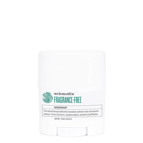 Schmidt's Naturals Deodorant Travel Stick Fragrance-free