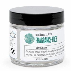 Schmidt's Naturals Cream Deodorant Fragrance-Free