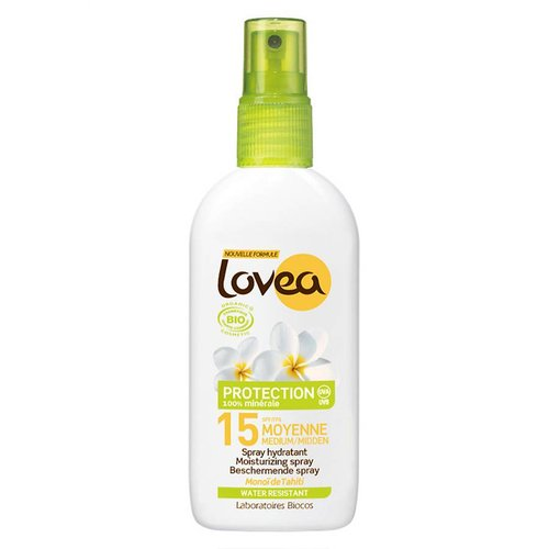 Lovea Bio SPF15 Sun Care Spray