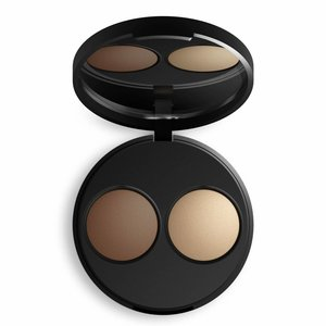 Inika Baked Mineral Contour Duo Almond