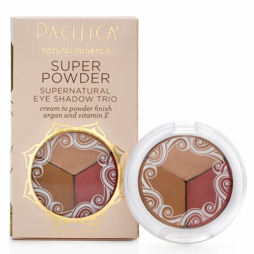 Pacifica Super Powder Eye Shadow Trio Breathless Glowing Sunset