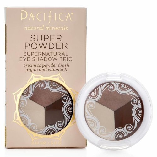 Pacifica Super Powder Eye Shadow Trio Stone Cold Fox