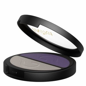 Inika Pressed Mineral Eye Shadow Duo Purple Platinum