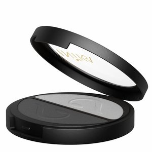Inika Pressed Mineral Eye Shadow Duo Platinum Steel
