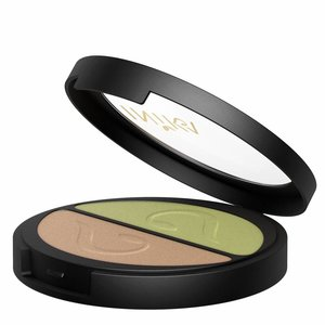 Inika Pressed Mineral Eye Shadow Duo Khaki Desert