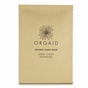 Orgaid Nourishing Sheet Mask Greek Yogurt