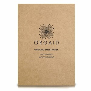 Orgaid Moisturizing Sheet Mask Anti-Aging