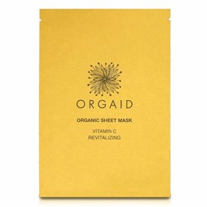 Orgaid Revitalizing Sheet Mask Vitamin C