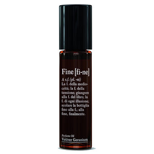 Fine Perfume Oil Roll-On Vetiver Geranium