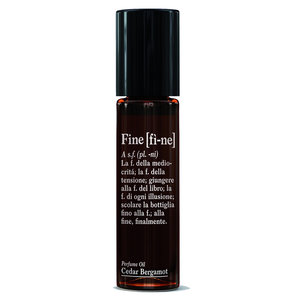 Fine Perfume Oil Roll-On Cedar Bergamot